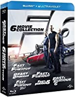 fast and furious - 6 movie collection (10 blu-ray) [edizione: regno unito] [edizione: regno unito]