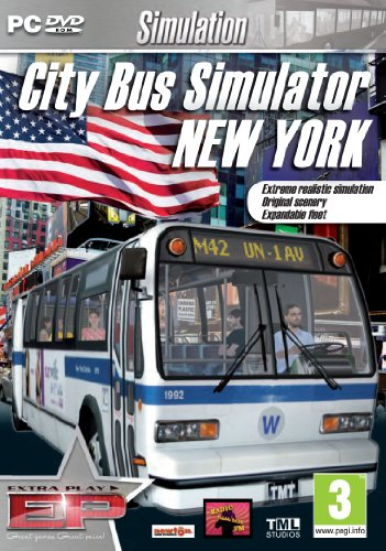 [UK-Import]City Bus Simulator 2010 New York (Extra Play) Game PC