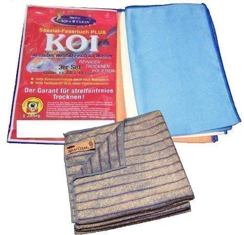 Aqua Clean Koi-Tücher 6tlg Set
