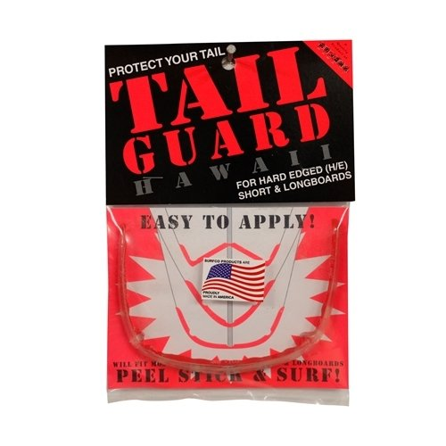 Surf Co Tail Guard (Choose Color & Size) (Clear, Regular)