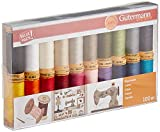 Gutermann - Set di fili multicolore, 100 m