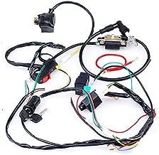 CISNO Complete Electrics CDI Coil Wiring Loom Harness Kick for 50cc 110cc 125cc ATV Dirt Bike