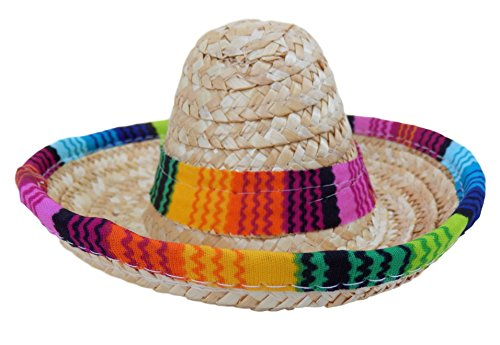 Dog Sombrero Hat Pack - Funny Dog Costume - Chihuahua Clothes - Mexican Party Decorations (Dog Sombrero)