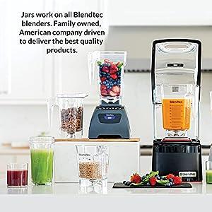 Blendtec TB-621-20 Total Blender Classic, with FourSide Jar, Black