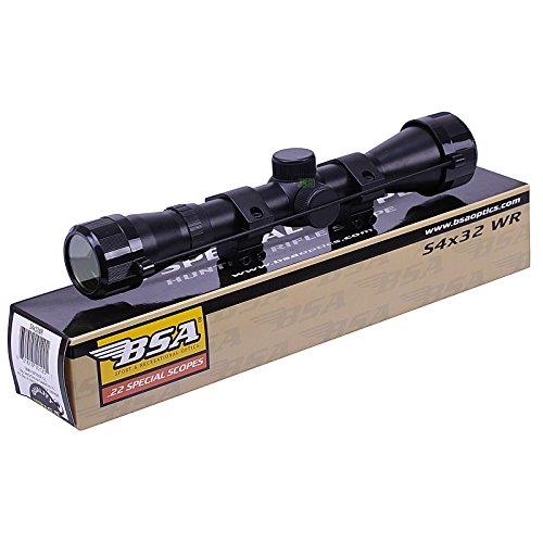 BSA WR 4x32 Telescopic Air Gun Rifle Scope Sight Supplied With 11mm 3/8' Mounts