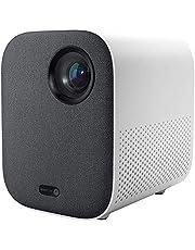 Xiaomi Mi Smart Compact Projector, draagbare led-projector voor thuisbioscoop, 1080p Full HD, spraakbediening, geïntegreerde Google- en Chromecast-assistent, Dolby DTS, wit, Italiaanse versie