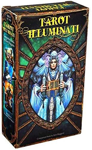 JIAFENG Tarot Illuminati Kit 78 Karten Deck Divination Fate Family Party Brettspiel Spielzeug