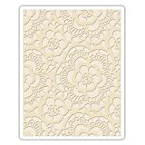 Sizzix, Multi Color, Embossing Folder 661824, Lace, One Size