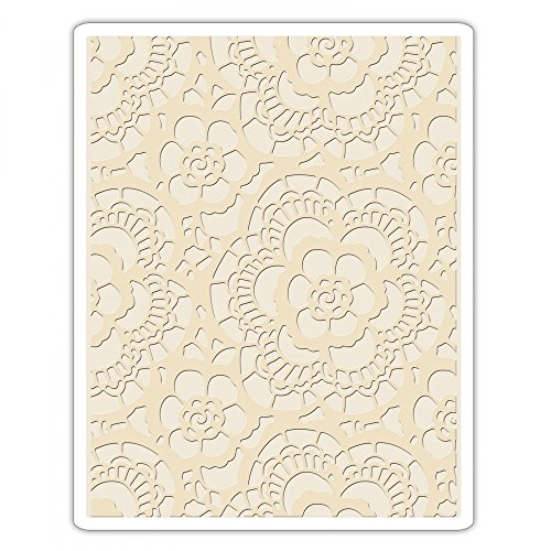 Sizzix Multi Color Embossing Folder 661824 Lace One Size