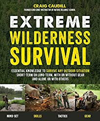 Extreme Wilderness Survival Book camping gifts for kids