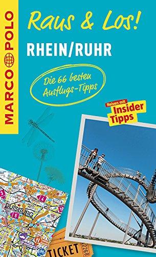 MARCO POLO Raus & Los! Rhein/Ruhr: Das Package für unterwegs: Der Erlebnisführer mit großer Erlebniskarte