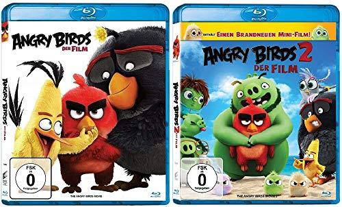 Angry Birds 1+2 Die Filme / Teil 1+2 [Blu-ray Set]