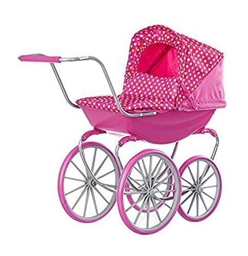 Chipolino KZK0146DIAD Puppen-Kinderwagen Sima, Diana Punkte
