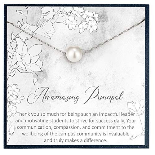 Grace of Pearl Principal Gifts for Principal Gift for School Principal Appreciation Gifts for School Principal Retirement Gifts for Principal Leaving Gifts Thank You