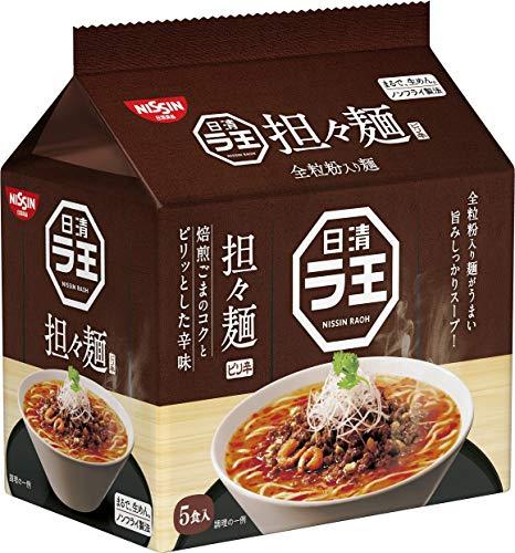 日清食品 ラ王 担々麺 5食パック 475g×6パック