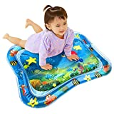 MosQuick Tummy Time Inflatable Water Play Mat, Blue