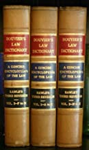 Best bouvier's law dictionary 3rd edition Reviews