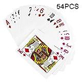 Spielkarten-Stütze 54Pcs 1 Paar Dekorative Haltbare Lustige Enorme Schürhaken-Stütze für Partei- und Spiel-Spaß Während Alles Alters - 12,5 * 17,5 cm