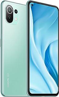 【日本正規代理店品】Xiaomi Mi 11 Lite 5G 日本版 6+128GB SIMフリー スマートフォン 90Hzリフレッシュレート 6400万画素 DCI-P3色域 (ミントグリーン)