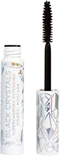 Pacifica Black crystals supercharged extending mineral mascara (black beauty), 0.21 Ounce