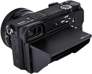 JJC LCD Parasol para Sony Alpha A6500 A6400 A6300 A6000 Kameras