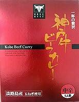 (2箱セット) 神戸牛ビーフカレー 200g×2箱セット ≪代引不可≫≪他の商品と混載不可≫