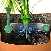 Sistema de riego de plantas en macetas que aporta a la planta el agua necesaria hasta 4 semanas en hogares y oficinas, dispositivo riego macetas, sistema autónomo para regar plantas en vacaciones