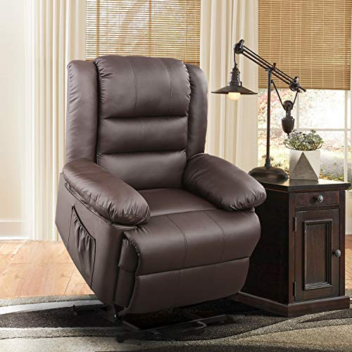 DEVAISE Dual-Motor Power Lift Recliner Chair for Elderly, Living Room Sofa Chair...