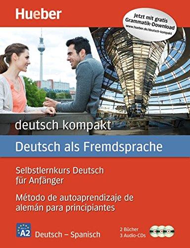 DEUTSCH KOMPAKT Curso autoaprend. A1-A2: Kursbuch, Arbeitsbuch + CDs - Deutsch/Spanisch (Autodidacta Aleman)