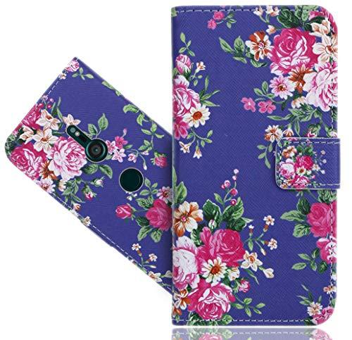 Sony Xperia XZ3 Handy Tasche, FoneExpert® Wallet Hülle Flip Cover Hüllen Etui Hülle Ledertasche Lederhülle Schutzhülle Für Sony Xperia XZ3
