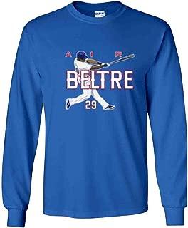 Long Sleeve Blue Adrian Beltre Texas AIR HR T-Shirt
