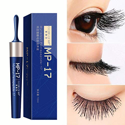 Luccase 10ML Blau Wimpern Wachstum Wimpernverstärkendes Wimpernwachstum Flüssiges Serum Wimpernverstärker Latisse Flüssigkeit Wimpernwachstumsöl