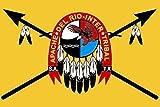 U24 Fahne Flagge Apachen Indianer 90 x 150 cm