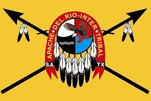 U24 Drapeau des apaches indien 90 x 150 cm