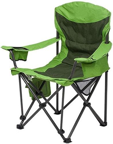 1949shop Dossier Vert de Camping Confortable de Chaise, Chaise de Pliage portative extérieure Simple de Chaise de Loisirs - 91 \u0026 Times; 63 \u0026 Times; 106cm