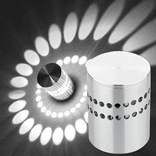 TAOtTAO Applique murale à trou spirale pour installation de la lumière LED Luminaire Décoration de la maison, a, 5.3*7cm / 2.2*2.8\