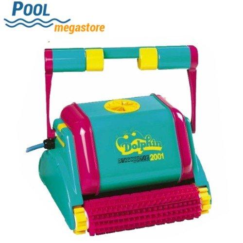Poolsauger Sauger Dolphin Diagnostic 2001 mit PVC-Bürsten