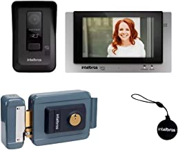 Interfone Video Porteiro Wifi Intelbras Allo Wt7 Fechadura