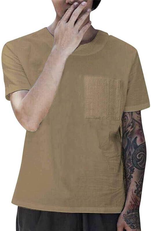 OPAKY Camisetas Hombre Manga Corta Hombres Verano Manga Corta ...