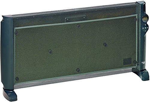 Einhell Wärmewellenheizung WW 2000 D (2.000 W max. Heizleistung, Mica-Heizelement, Zeitschaltuhr, Thermostat, Fernbedienung, Abschaltung bei Umkippen)