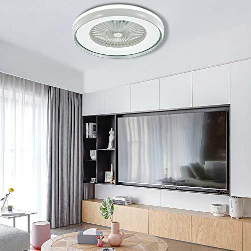 Ventilador de techo de 23 pulgadas con iluminación y mando a distancia