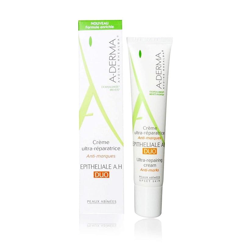 分解する毒液不当A-derma Epitheliale A.h. Duo Ultra-repairing Cream 40ml [並行輸入品]
