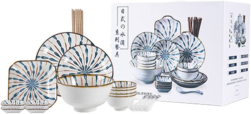 Food At the price For 4 People-20-piece Healthy Excellence Tableware Japanese-style Cera
