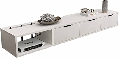 Floating TV Stand Cabinet, Matte Entertainment Floating Wall Unit with Cable Management, for Living Room Entertainment Room Office/A / 140CM