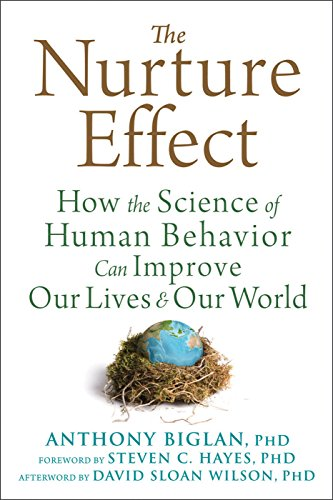 Image of The Nurture Effect: How the Science of Human Behavior Can Improve Our Lives and Our World