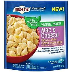 Birds Eye Steamfresh Veggie Made Mac & Cheese Shells With White Cheddar, 10 oz (frozen)