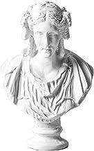 WaNana 3.15''Resin Sketch Figurines-Mini Plaster Statue Venus de Milo Replica Aphrodite Greek Goddess Bust Statue Home Decor Souvenirs-Great for Artists Greek Lady