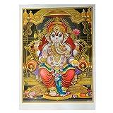 Bild Ganesha 92 x 62 cm Gottheit Hinduismus Kunstdruck