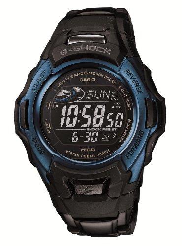 Casio G-Shock MTG-M900BD-2JF - Reloj (Reloj de Pulsera, Resina, Acero Inoxidable, Negro, Azul, Acero Inoxidable, Negro, Inorganic)