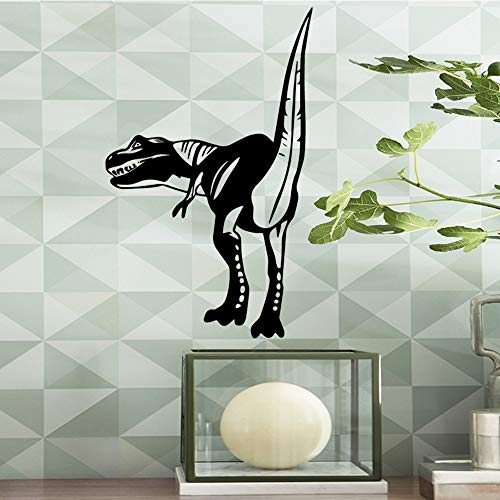 Tianpengyuanshuai Lustige Dinosaurier Wandaufkleber Vinyl Kunst abnehmbare Aufkleber 36X57cm